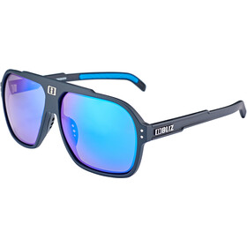 Bliz Targa M9 Lunettes, matt black/smoke with blue multi